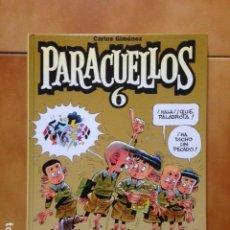 Cómics: PARACUELLOS 6 - CARLOS GIMENEZ - GLENAT - TAPA DURA - MUY BUEN ESTADO. Lote 218054255