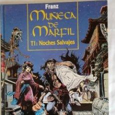 Comics : MUÑECA DE MARFIL T1 NOCHES SALVAJES. Lote 192033038