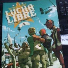 Cómics: LUCHA LIBRE: THE LUCHADORES FIVE Nº 1 (GLÉNAT). Lote 193256445