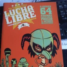 Cómics: LUCHA LIBRE: I WANNA BE YOUR LUCHADORITO Nº 4 (GLÉNAT). Lote 193256741