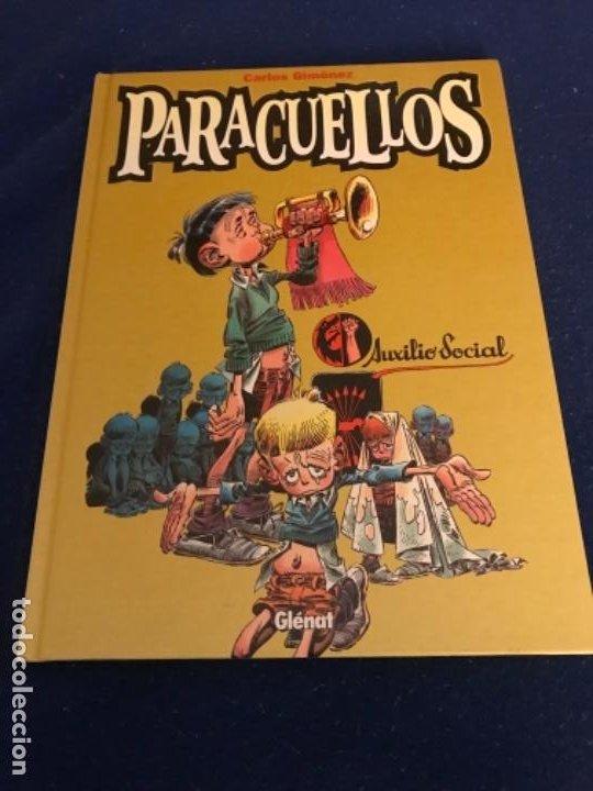 Cómics: PARACUELLOS TOMO 1 AUXILIO SOCIAL DE CARLOS GIMENEZ - GLENAT - Foto 2 - 193641366