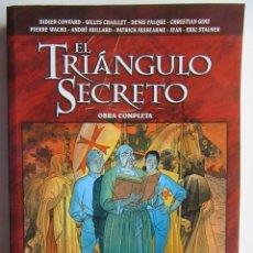 Cómics: EL TRIANGULO SECRETO OBRA COMPLETA INTEGRAL - GLENAT - TAPA BLANDA - MUY BIEN. Lote 193811510