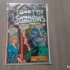 Cómics: CRYPT OF SHADOWS - MARVEL COMICS -. Lote 194012162