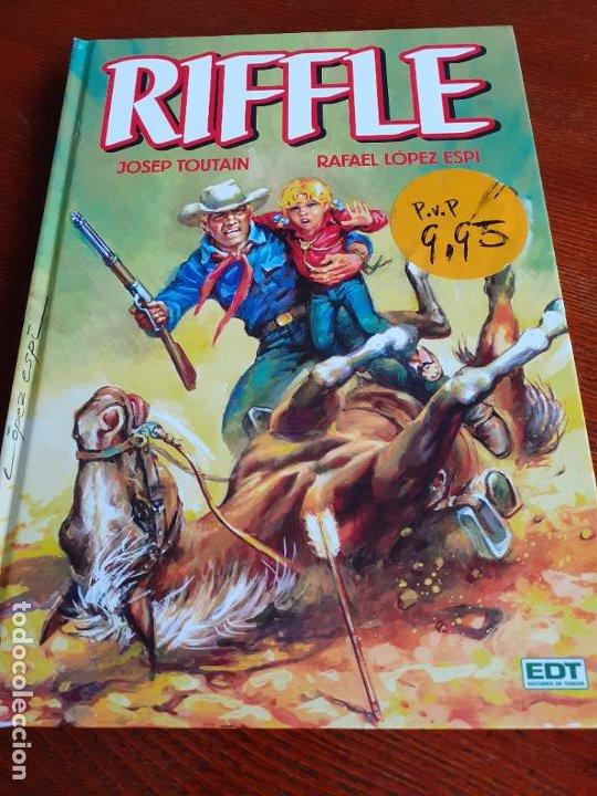 RIFFLE (EDT, 2012) - LÓPEZ ESPÍ Y TOUTAIN. TAPA DURA. 192 PGS. (Tebeos y Comics - Glénat - Autores Españoles)