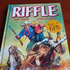 Cómics: RIFFLE (EDT, 2012) - LÓPEZ ESPÍ Y TOUTAIN. TAPA DURA. 192 PGS.. Lote 194113202