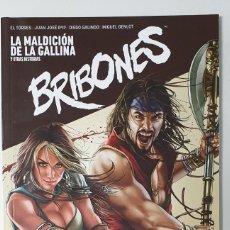 Cómics: BRIBONES Nº 1 - LA MALDICION DE LA GALLINA (DIBUKKS 2015) . Lote 194180045