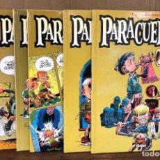 Cómics: PARACUELLOS AUXILIO SOCIAL. CARLOS GIMENEZ. COMPLETA, 6 TOMOS. GLENAT, 2001. 2ª EDICION. Lote 194675985