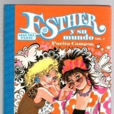 Cómics: ESTHER Y SU MUNDO. PURITA CAMPOS. SEGUNDA PARTE. VOL. 1. GLÉNAT, 2011. Lote 194686566