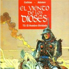 Cómics: EL VIENTO DE LOS DIOSES-3: EL HOMBRE OLVIDADO (GLENAT, 1995). Lote 194777952