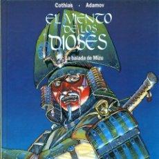 Cómics: EL VIENTO DE LOS DIOSES-5: LA BALADA DE MIZU (GLÉNAT, 1998). Lote 194778352