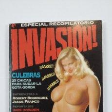 Cómics: INVASIÓN ESPECIAL RECOPILATORIO Nº 1 (NUMS 1 A 4) GLENAT. TDKC48. Lote 194870971