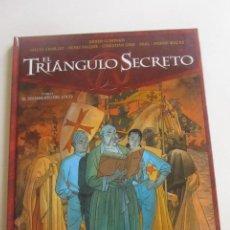 Cómics: EL TRIÁNGULO SECRETO TOMO I. EL TESTAMENTO DEL LOCO - GLÉNAT - 2003 CX43. Lote 194900208