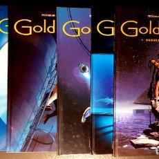 Cómics: GOLDEN CITY (GLÉNAT, 2002-2005) DE MALFIN Y PECQUEUR. COMPLETA: 6 TOMOS. Lote 195090811