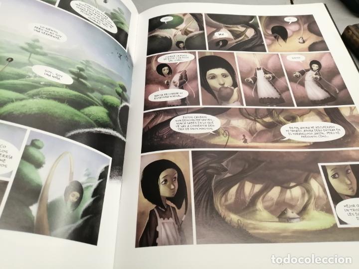 Cómics: ALICIA EN EL PAÍS DE LAS MARAVILLAS / DAVID CHAUVEL - XAVIER COLLETE / GLÉNAT 2010 - Foto 2 - 195173515
