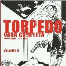 Cómics: TORPEDO, OBRA COMPLETA, TOMO 5, 2004, GLÉNAT, MUY BUEN ESTADO. Lote 195233655