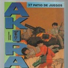 Cómics: AKIRA 37: PATIO DE JUEGOS, 1996, GLÉNAT, BUEN ESTADO. Lote 195314826