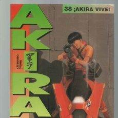 Cómics: AKIRA 38: AKIRA VIVE, 1996, GLÉNAT, BUEN ESTADO. Lote 195315077