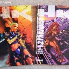 Cómics: HK 1.1 AVALON + HK 1.2 PARADISO. Lote 195378632