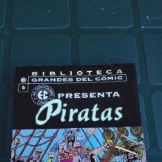 Comics: BIBLIOTECA GRANDES DEL COMIC. Nº 6 PIRATAS. Lote 195715243