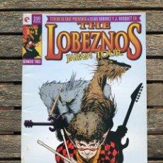 Cómics: THE LOBEZNOS JAPAN TOUR. AUTORES, ELÍAS SÁNCHEZ Y J. BUSQUET. ED. GLENAT AÑO 1997. VER FOTOS. Lote 185720432