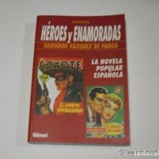 Cómics: HEROES Y ENAMORADAS - DE SALVADOR VAZQUEZ DE PARGA / GLENAT - 1ª EDICION * AÑO 2000. Lote 197812800