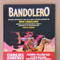 Fumetti: BANDOLERO CARLOS GIMÉNEZ . Lote 198022330