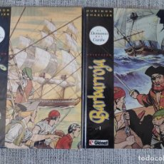 Cómics: BARBARROJA TOMOS I Y II COMPLETO EDICIONES GLENAT. Lote 198593340