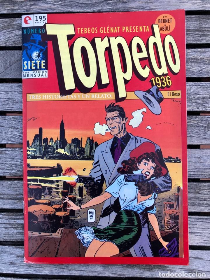 TORPEDO Nº 7 (DE 30). AUTORES, JORDI BERNET Y ABULÍ. ED. GLENAT, AÑO 1994 . (Tebeos y Comics - Glénat - Autores Españoles)