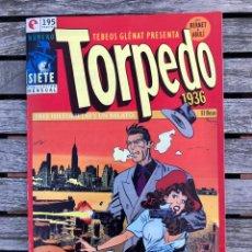 Cómics: TORPEDO Nº 7 (DE 30). AUTORES, JORDI BERNET Y ABULÍ. ED. GLENAT, AÑO 1994 .. Lote 184843680