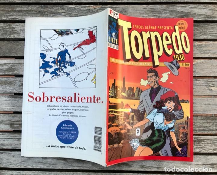 Cómics: TORPEDO Nº 7 (DE 30). AUTORES, JORDI BERNET Y ABULÍ. ED. GLENAT, AÑO 1994 . - Foto 4 - 184843680