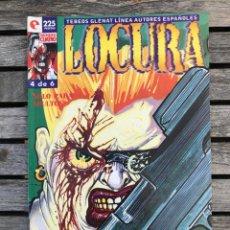 Cómics: LOCURA Nº 4 (DE 6). AUTOR, BAUXÍ. EDITORIAL GLENAT, AÑO 1996. 24 PÁGINAS EN BLANCO Y NEGRO.. Lote 185721126