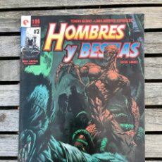 Cómics: HOMBRES Y BESTIAS Nº 3 (DE 3). AUTOR, RAFAEL GARRÉS. EDITORIAL GLENAT AÑO 1995.. Lote 185721505