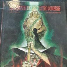 Cómics: COMIC GLENAT FERNANDO FERNANDEZ LA LEYENDA DE LAS CUATRO SOMBRAS . Lote 199259823