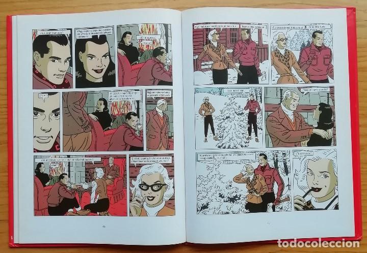 Cómics: NO HAY DOS SIN TRES. Floc´h y Fromental. Gran formato y tapa dura. Policoloreado. Ed. Glénat 1994. - Foto 4 - 200360368