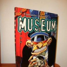 Cómics: MUSEUM - FERNANDO DE FELIPE - GLÉNAT, MUY BUEN ESTADO, RARO. Lote 201301337