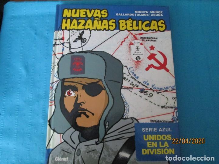 NUEVAS HAZAÑAS BELICAS SERIE AZUL (Tebeos y Comics - Glénat - Autores Españoles)