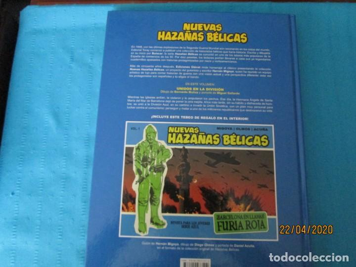 Cómics: NUEVAS HAZAÑAS BELICAS SERIE AZUL - Foto 2 - 201473242