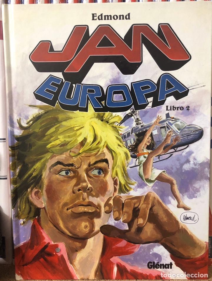 Cómics: JEAN EUROPA INTEGRAL - 3 TOMOS COLECCIÓN CONPLETA - Foto 3 - 201980873