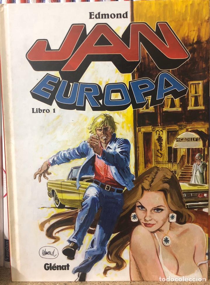 JEAN EUROPA INTEGRAL - 3 TOMOS COLECCIÓN CONPLETA (Tebeos y Comics - Glénat - Autores Españoles)