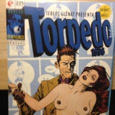 Cómics: TORPEDO 1936 - NUMERO 25 - BERNET Y ABULÍ - TEBEOS GLENAT. Lote 202286141