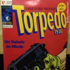 Cómics: TORPEDO 1936 - NUMERO 23 - BERNET Y ABULÍ - TEBEOS GLENAT. Lote 202286173