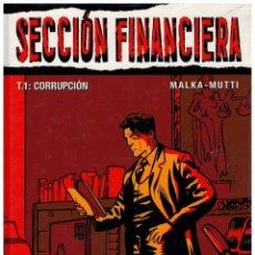 Comics : COLECCIÓN VIÑETAS NEGRAS Nº 21.SECCIÓN FINANCIERA T.1:CORRUPCIÓN. (PEDIDO MÍNIMO 5 €.).. Lote 202709286