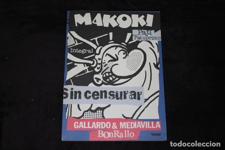 MAKOKI INTEGRAL SIN CENSURA RICARDO Y MEDIAVILLA GRAN FORMATO! (Tebeos y Comics - Glénat - Autores Españoles)