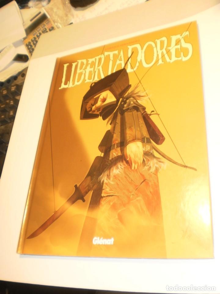 LIBERTADORES. ENRIQUE FERNÁNDEZ. GLENAT 2004 TAPA DURA COLOR (SEMINUEVO) (Tebeos y Comics - Glénat - Autores Españoles)