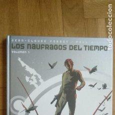 Cómics: LOS NAUFRAGOS DEL TIEMPO.GLENAT. VOLUMEN 1. Lote 203182633