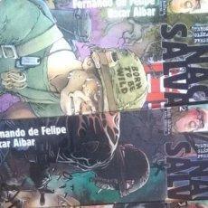 Cómics: NACIDO SALVAJE SERIE LIMITADA COMPLETA / FERNANDO DE FELIPE-OSCAR AIBAR. Lote 203206015
