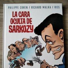 Cómics: LA CARA OCULTA DE SARKOZY. TOMO UNICO CARTONE. GLENAT. Lote 203235795