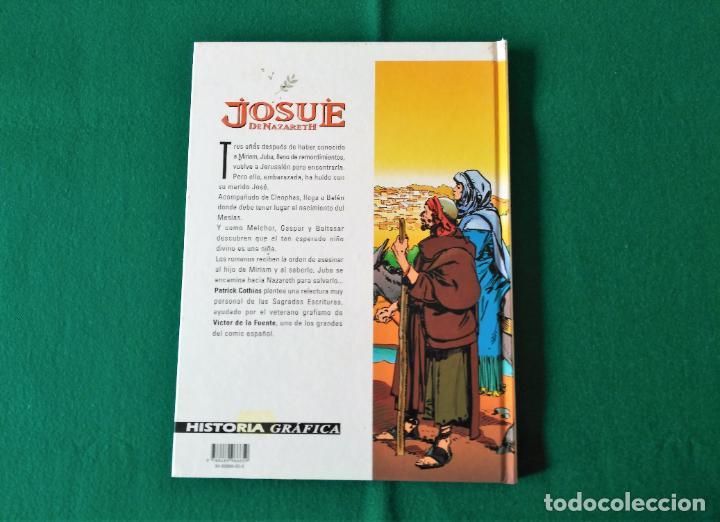 Cómics: JOSUÉ DE NAZARETH - VICTOR DE LA FUENTE - TOMO 1 Y TOMO 2 - EDICIONES GLÉNAT - AÑO 1998 - Foto 8 - 203240398