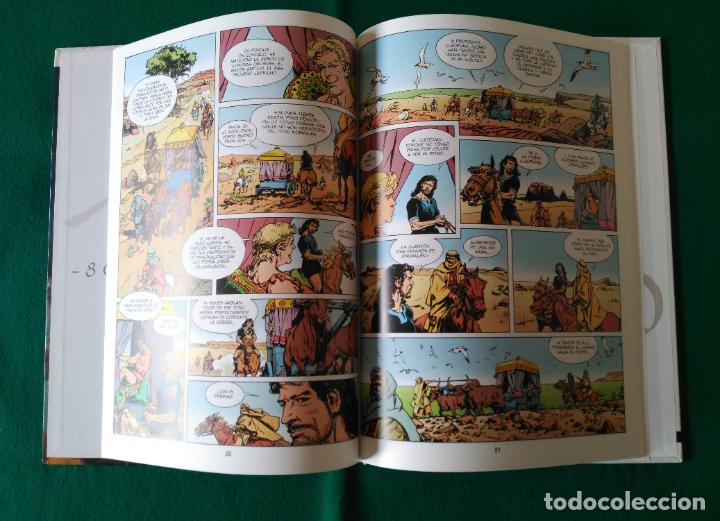 Cómics: JOSUÉ DE NAZARETH - VICTOR DE LA FUENTE - TOMO 1 Y TOMO 2 - EDICIONES GLÉNAT - AÑO 1998 - Foto 6 - 203240398