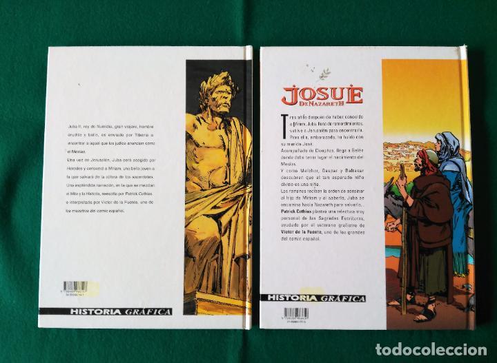 Cómics: JOSUÉ DE NAZARETH - VICTOR DE LA FUENTE - TOMO 1 Y TOMO 2 - EDICIONES GLÉNAT - AÑO 1998 - Foto 3 - 203240398